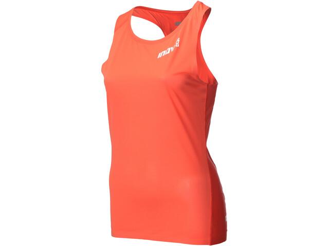 inov-8 AT/C Koszulka do biegania bez rękawów Kobiety pomarańczowy